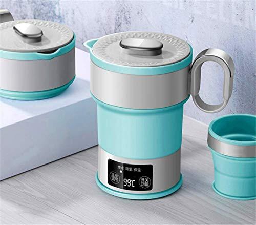 kbxstart 100-240V Falten Wasserkocher Komprimiert Wasserkocher Reise Tragbare Wasserkocher Mini Isolierung Wasserkocher