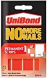 UniBond No More Nails Permanent Strips - Pack of 10