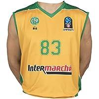 Bigsport Replica Bouteille Eurocup Limoges Csp Domicile Maillot de Basketball Garçon