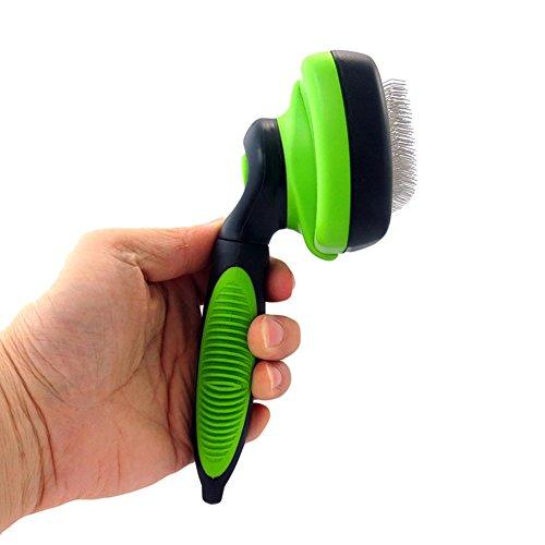 ROKOO Grooming Brush Deshedding Tool Hunde Haustiere Slicker Brush Kamm Zum Entfernen von Haar Haustiere Produkte
