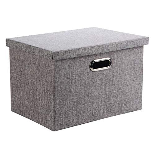 Caja Almacenaje, Wintao Ropa Lino Plegable Cestas