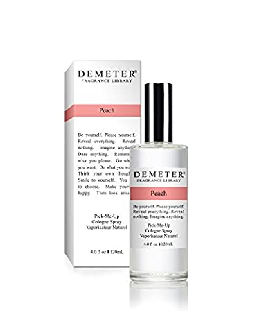 Demeter Cologne Spray for Women, Peach, 4 Ounce by Demeter