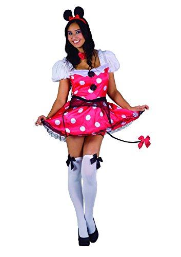 Ciao Fiori Paolo 25879 - Topolina Sexy Pepper Mouse Costume Burlesque 5cb422ae507