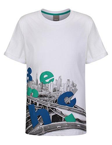 Bench -  T-shirt - Maniche corte  - ragazzo Bianco bianco