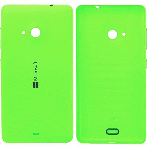 Original Microsoft Akkudeckel green / grün für Lumia 535 (Akkufachdeckel, Batterieabdeckung, Rückseite, Back-Cover) - 8003487