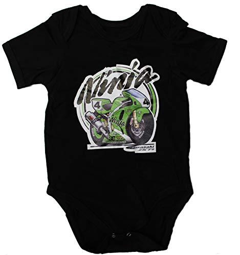 Kawasaki Ninja Traje Body Bebe Logotipo Etiqueta Pegatinas de la Camis