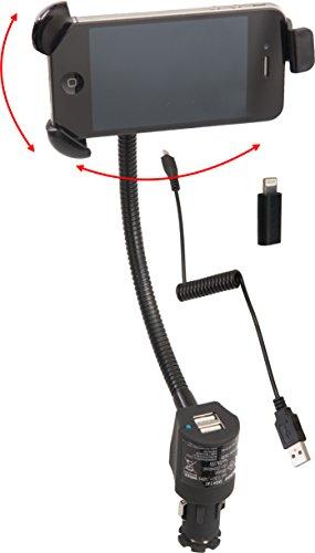 Preisvergleich Produktbild HP Autozubehör 29382 Uni Smartphone-Halterung 2xUSB