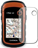 3 x Membrane Screen Protectors for Garmin eTrex 20 / 30 - Crystal Clear (Glossy), Retail Package, Installation Kit