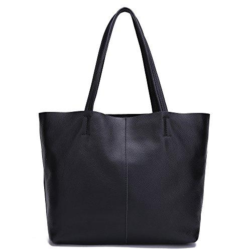 Damero delle donne Vintage spalla del sacchetto con fodera rimovibile (Grande, Marrone)