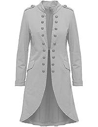 Madonna Mujer Blazer chaqueta para mujer Admiral Chaqueta Military Blogger S ...