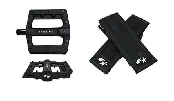 Fyxation Gates Pedal Straps Black
