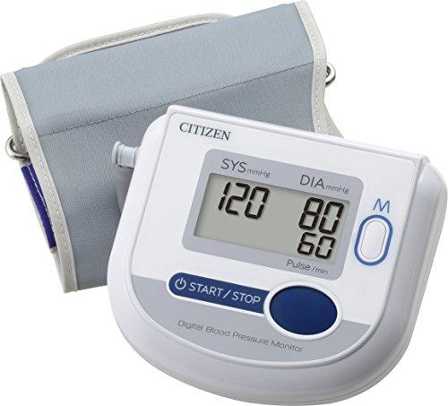 Citizen-CH-453-Blood-Pressure-Monitor-White
