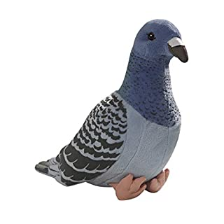 Carl Dick Dove, Pigeon blue 8 inches, 24cm, Plush Toy, Soft Toy 3299