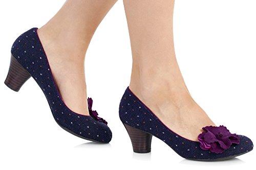 RUBY SHOO Ruby Shoo Samira 8995 Purple Violet