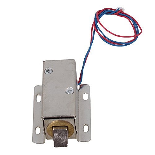 Preisvergleich Produktbild BQLZR TFS-A21 Schranktür Elektroschloss 12V Versammlung Magnetschloss Zunge Oben