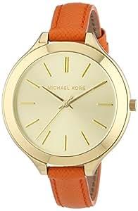 Michael Kors Damen-Armbanduhr Analog Quarz Leder MK2275