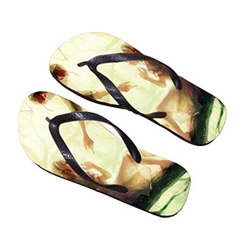Bromeo Kagerou Project Anime Unisexe Flip Flops Tongs 393