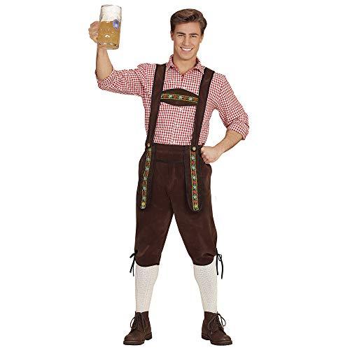 WIDMANN Piel Pantalón Bayer para Adultos