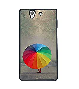 Fuson 2D Printed Designer back case cover for Sony Xperia Z - D4379