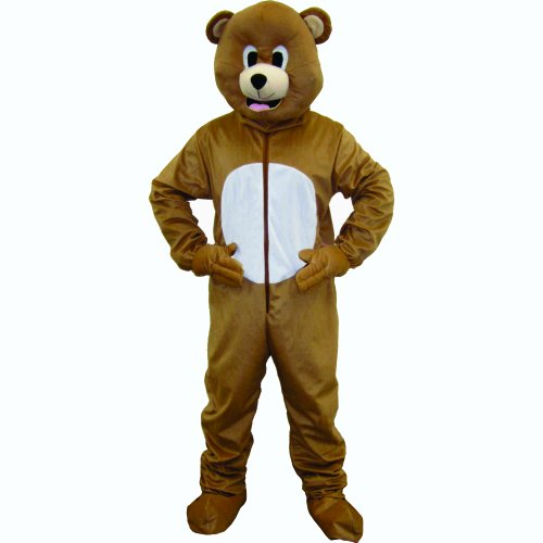 Imagen de dress up america  oso pardo disfraz para adulto 593 adult  alternativa