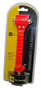 AA Car Essentials Marteau d'urgence pour voiture
