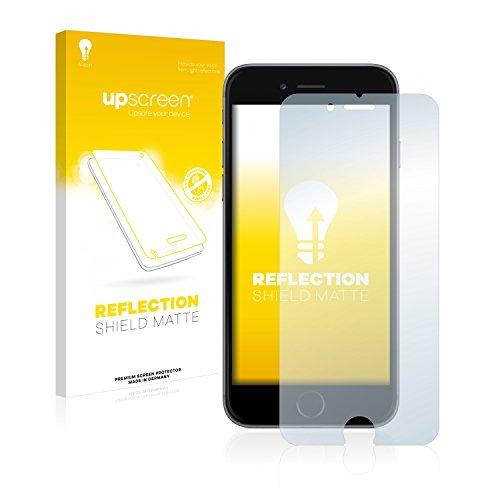 upscreen Matt Schutzfolie kompatibel mit iPhone 6 / 6S - Entspiegelt, Anti-Reflex, Anti-Fingerprint (Iphone 6 Schutzfolie Shield)