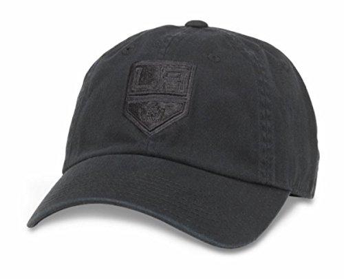 American Needle Los Angeles Kings NHL Blau Line Tonal Verstellbar Dad Gap, Unisex, Schwarz, Einheitsgröße -