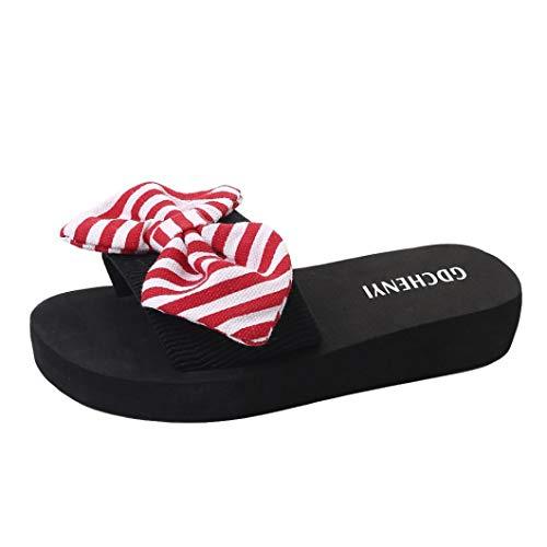Scarpe da Spiaggia per Donna, Honestyi Donne Pantofole - Infradito Donna - Flip Flop - Pantofola Ciabatta Non-Slip Pantofole da Casa Casual Ciabatte da Donna Scarpe Sandali
