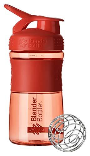 BlenderBottle Sportmixer Shaker per frullati di proteine Bottiglia per Acqua Borraccia BlenderBall