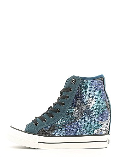 Sneaker All.paillett I16.1967 CAMOUFLAGE BLU