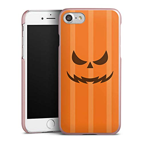 DeinDesign Hülle kompatibel mit Apple iPhone 7 Handyhülle Case Gesicht Halloween Gruselig