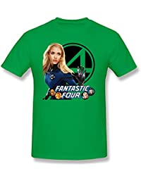 Cheap No Minimum Making Mens The Fantastic Four 2015 Tee Shirts XXXX-Large