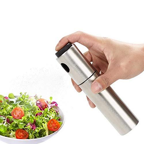 Zuionk Edelstahl-Spray-Öl-Flasche für Das Küche-Grillen-Backen Essig & Öl - Küche öl-flasche