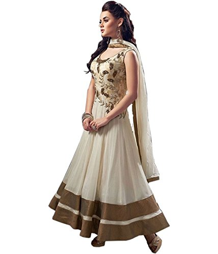vaankosh fashion Women\'s Net PartyWear SalwarSuits Dress Materials