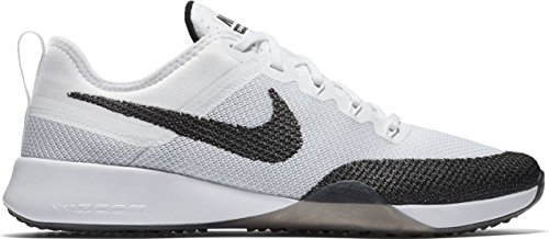Nike Womens Air Zoom Dynamic Mesh Trainers Noir Blanc