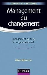 Management du changement - Changement culturel et organisationnel