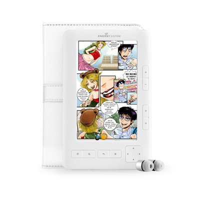 Energy Multimedia Color Book 1054 Arctic White