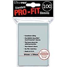 Ultra Pro - Funda de Cartas Pro-Fit, 100 unidades, transparente (82712)