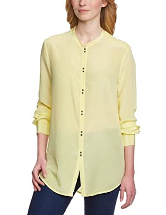 2 nd Day Damen Bluse 213114057/Ginger, Gr. 34 (XS), Gelb (Yellow Iris 6152)