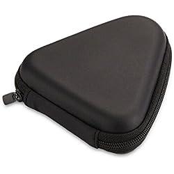 Qingsun EVA Stockage Sac Voyage Étui Housse Protection Sac Triangle Pochette Portable pour Bluetooth et USB câble