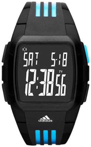 Adidas Men's Duramo ADP6040 Black Polyurethane Quartz Watch with Digital Dial