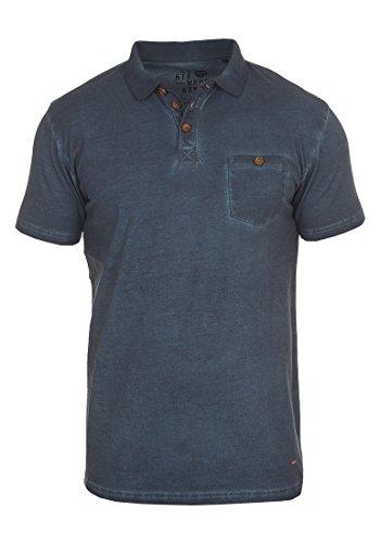 !Solid Termann Herren Poloshirt Polohemd T-Shirt Shirt mit Polokragen Aus 100{aadbd0d9d52f2bec4fcc8b377fe924fa2b8ee353bb51d31302cb39b14570ab1b} Baumwolle, Größe:S, Farbe:Insignia Blue (1991)