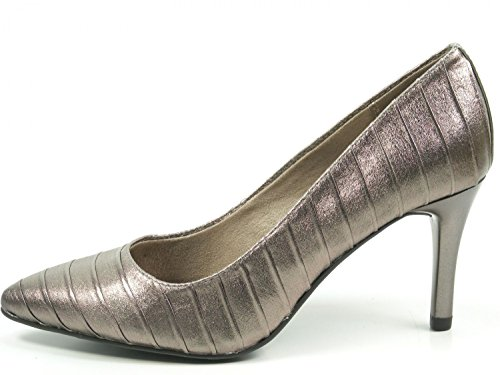 Tamaris Damen Pumps Bronze (Metallic), Schuhgröße:EUR 39