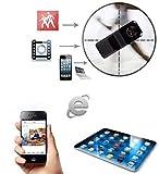 xingan Mini DV portable webcam P2P Wifi IP Caméra Cachée Espion Caméra vidéo sans fil caméra de surveillance DVR Caméscope à distance pour iPhone/Android/iPad/pc...