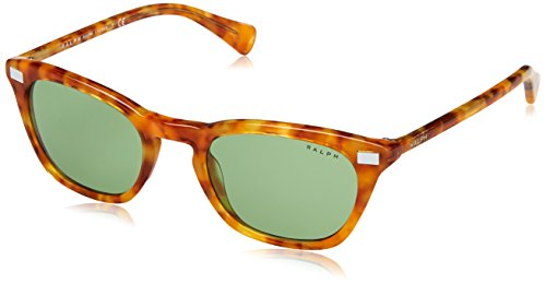Ralph 0ra5236 16942, occhiali da sole donna, marrone (honey tortoise/green solid), 51