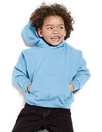 SG - Kids' Hooded Sweatshirt - White