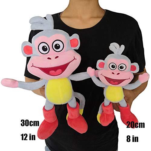 Dora The Explorer - Boots Plüsch Gefülltes Spielzeug 8 Zoll(20cm) und 12 Zoll(30cm) Plüsch Doll Lieferung durch Hyingstore (20cm / (Boots Dora The Explorer)