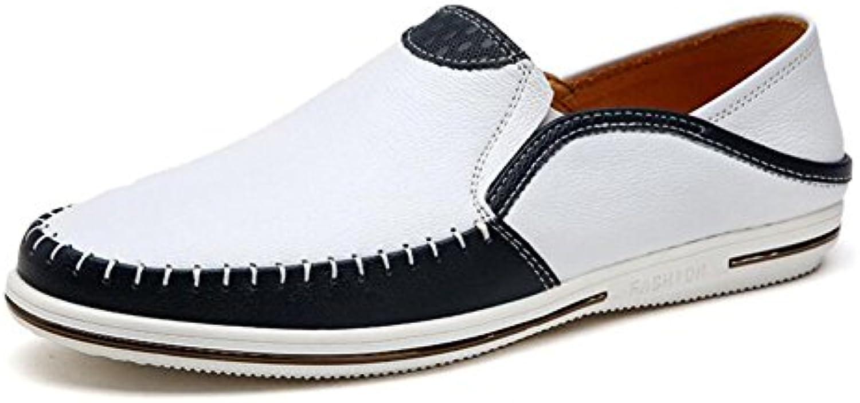 Zapatos ocasionales para hombre Mocasines planos Zapatillas de conducción confortables transpirables Zapatillas