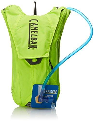 Camelbak HydroBak - Mochila de hidratación, color verde, 1.5 l