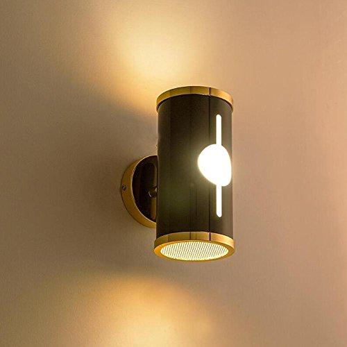 DENG OOFAY Light® Appliques Alliage d'aluminium E14 Abat-Jour Moderne LED Métal Chevet Intérieur Éclairage Fixation